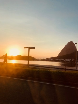 Sonnenaufgang in Rio